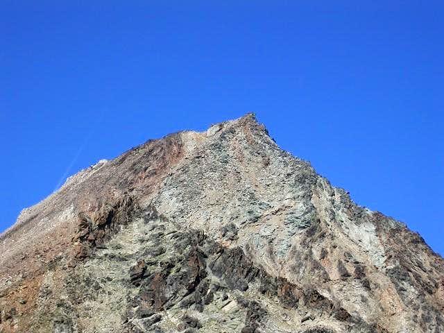la vetta del monte Emilius...