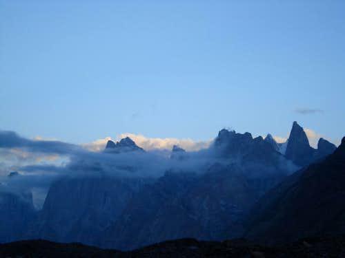 Paiyu and Trango Group Peaks