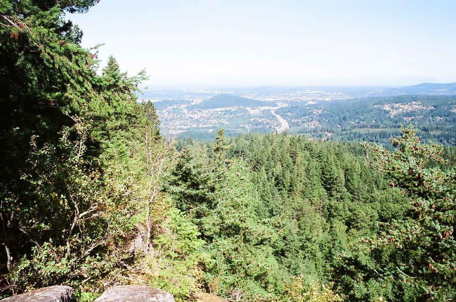 North Chuckanut Mtn. and Hush Hush trail.