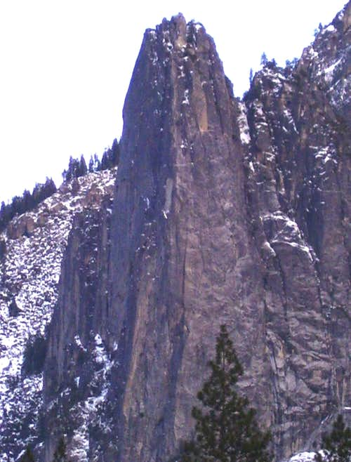 West Face of Sentinel Wall