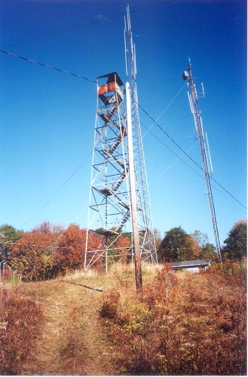 Black Mountain -- Abandoned Lookout Tower (2003)