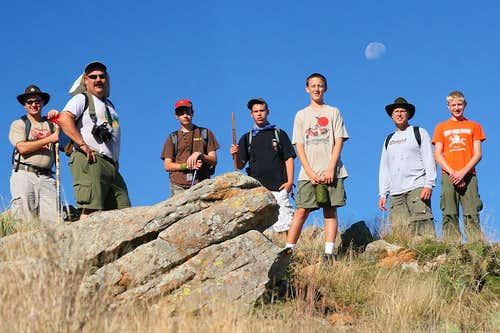 Crew 1 Climbs Elk Mountain
