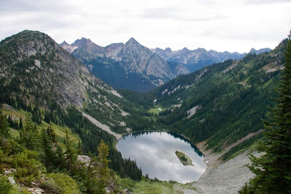 Lake Ann in a landscape...