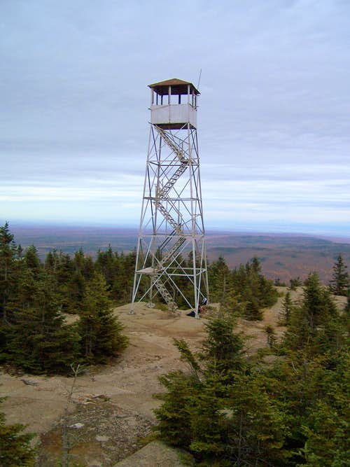 Lyon Mountain Fire Tower