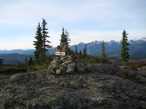 Mt Drabble Summit