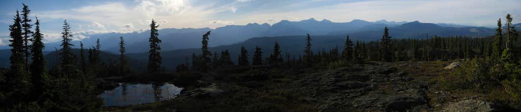 Mt Drabble Summit Panorama II
