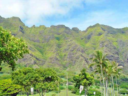 Oahu s Mountains