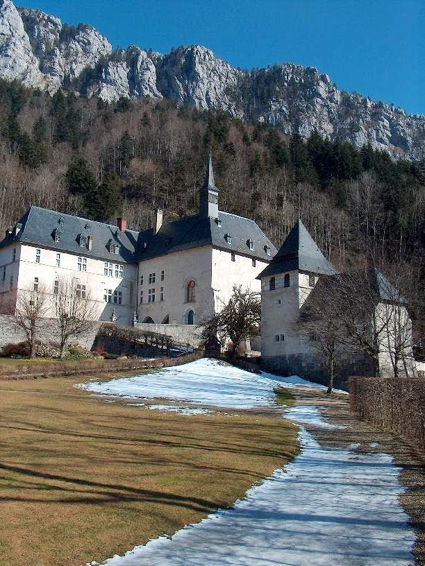 The monastery of the Chartreuse