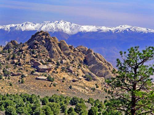 White Mtn. Peak from Grouse Mtn., Tungsten Hills