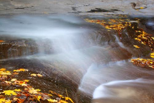 LaSalle Waterfall Closeup