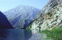 Azorchashma Lake (Fan Mountains)