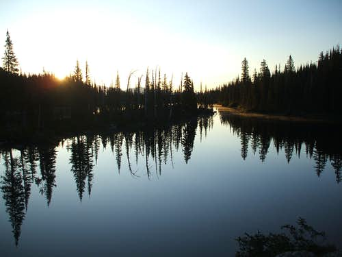 Birch Lake at dawn