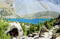 Alaudin Lake (Fan Mountains)