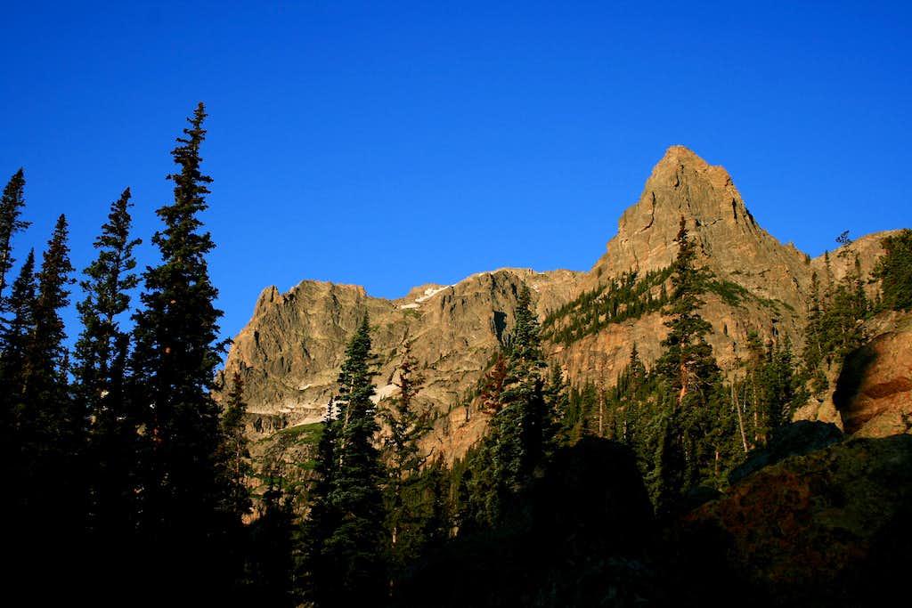 Little Matterhorn and Notchtop
