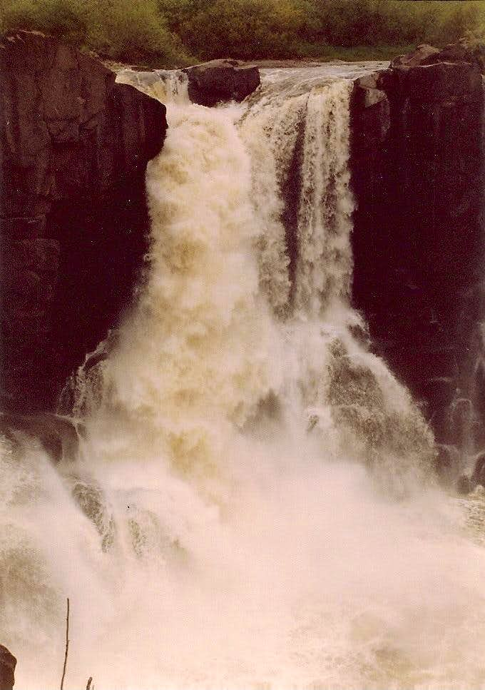 High Falls of The Pigeon River