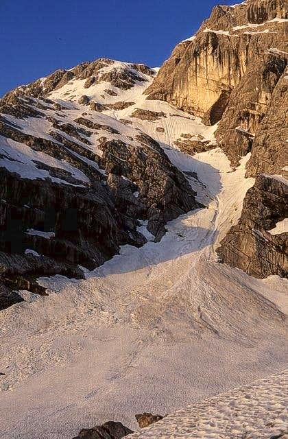 Goell east face seen from...