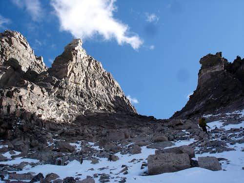 Pagoda descent