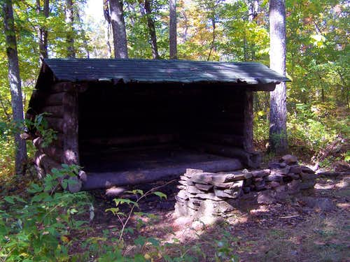 Tremper Mountain Lean-to