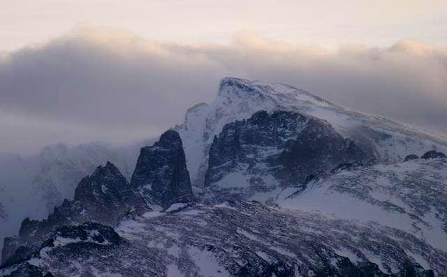 Taylor Peak as seen from Hwy...