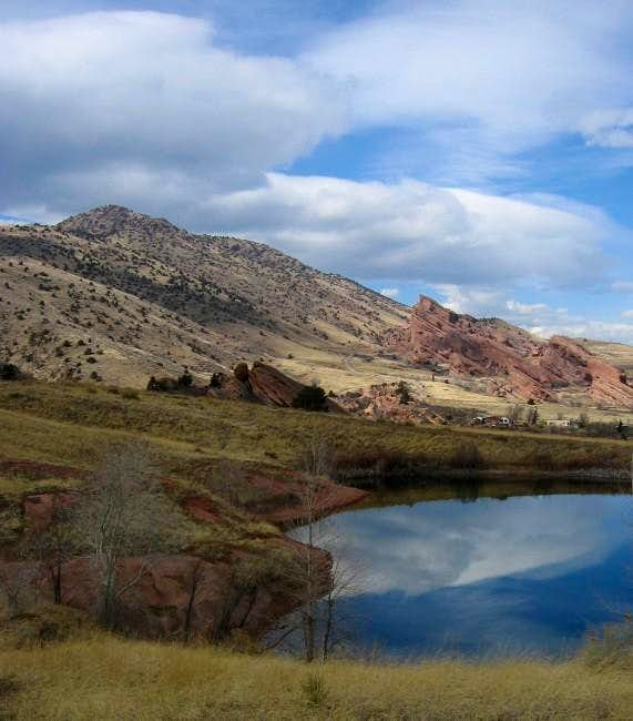 Mount Morrison and Red Rocks...