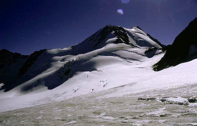 Wildspitze and Vernagtjoch in...