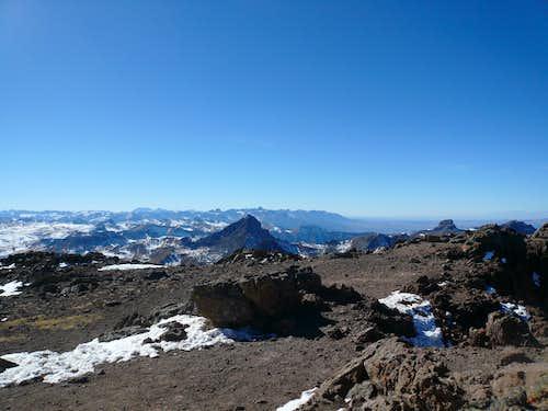 Wetterhorn Peak from Uncompahgre