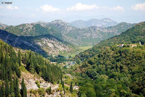 View to Rijeka Crnojevica