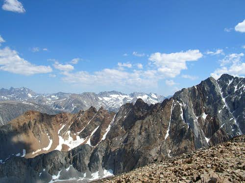 Emerson and Piute Crags