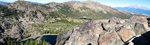 Toad Lake, Porcupine Lake, Porcupine Peak, Mt. Eddy, and Mt. Shasta