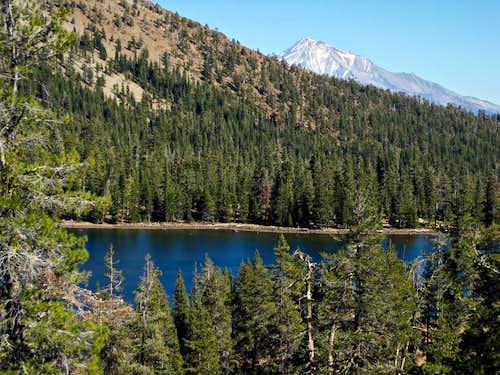 Toad Lake and Mt Shasta