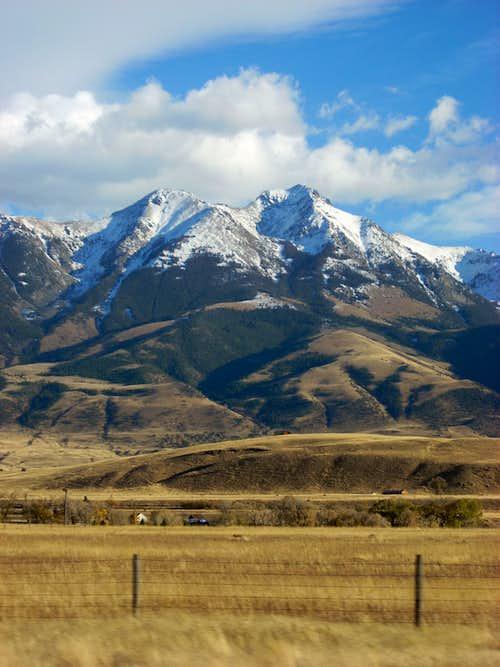 Emigrant Peak, Oct 08