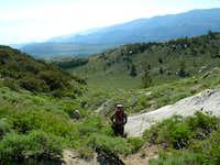 Start of hike to Mt Locke