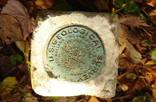 US Geological Marker