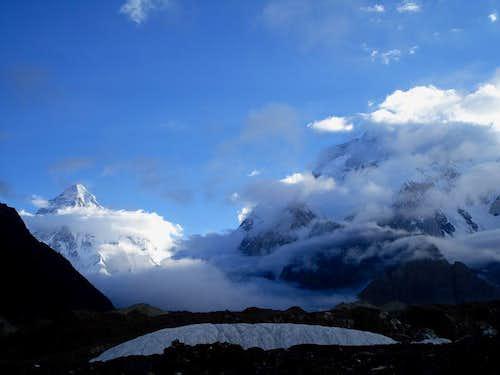 K2 & Broad Peak, Karakoram, Pakistan