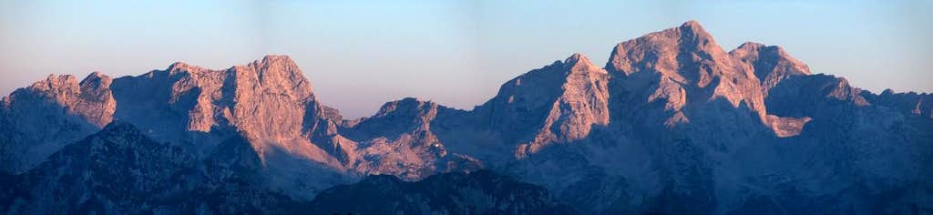Margart/Jalovec massif from Zasavska