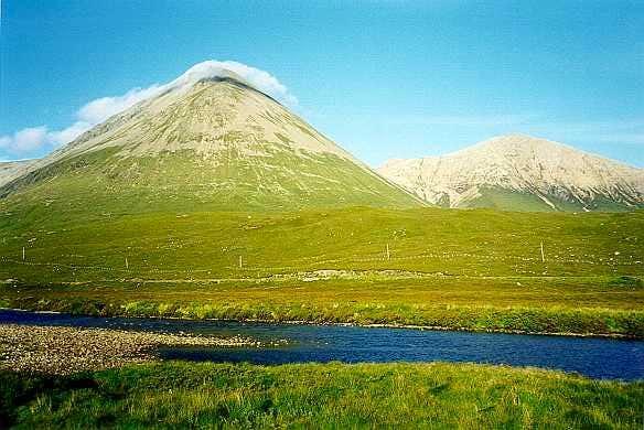 Isle of Skye, red Cuilins