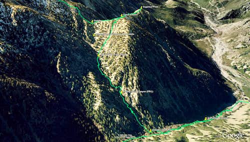 Route on Google Earth - Part 1