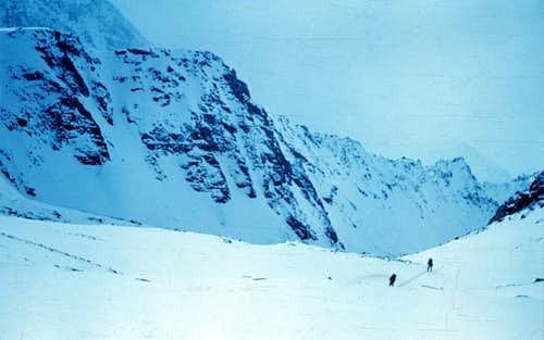 West Cirque of Riga-Turist Pass, Altay
