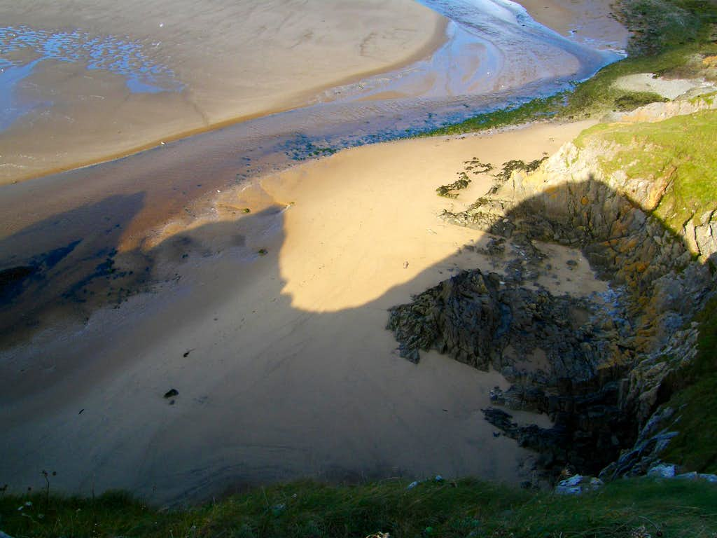 Three Cliffs Shadow - Gower