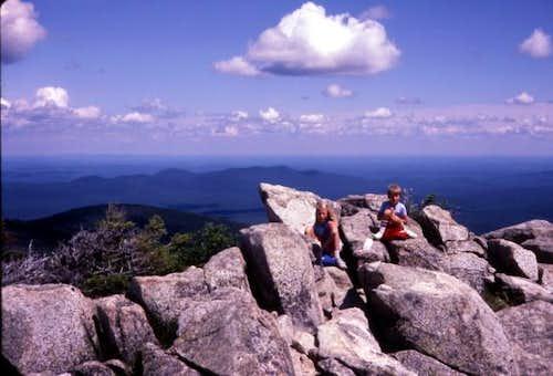 Atop Turner Mountain