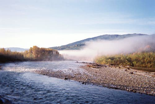The Sauk River, Darrington, Washington