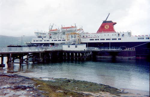 Ferry to Arran