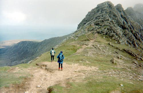 Ridge walk to Goat Fell