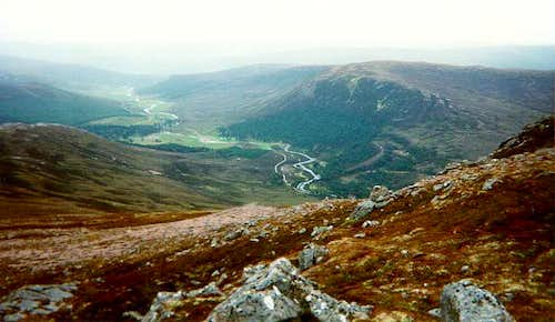 Glen Lui from Derry Cairngorm