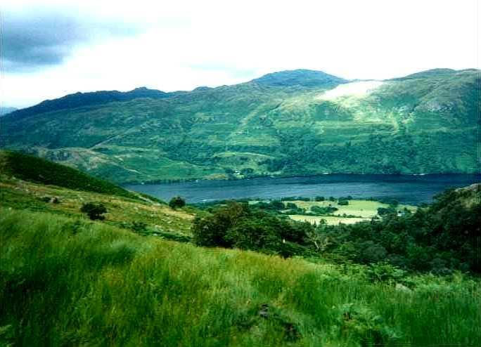 Loch Lomond from Ben Vorlich