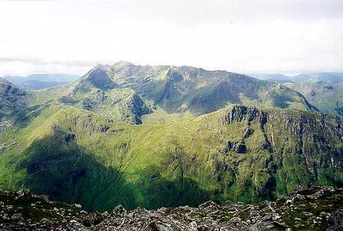 The Saddle from the 5 Sisters of Kintail