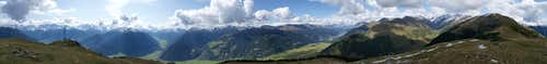 360° Summit Panorama Spitzige Lun