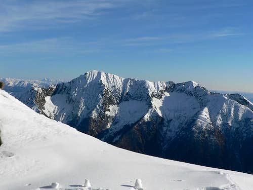 View from Bocchetta di Campo