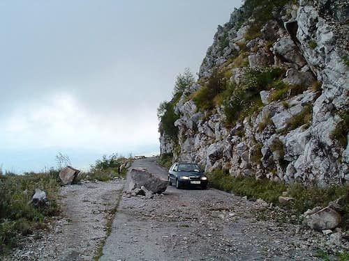 Road to Škadarsko jezero