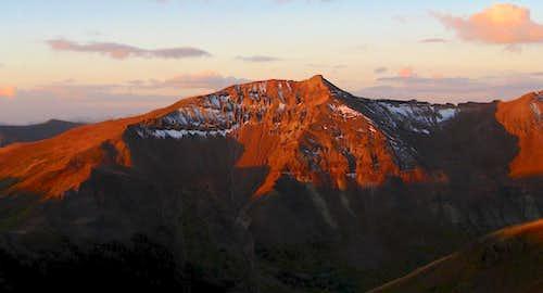 San Juan Alpenglow